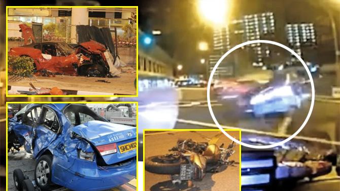 GTO 599 페라리 사고 동영상..쏘나타 택시 기사 사망케 한 죽음의 질주