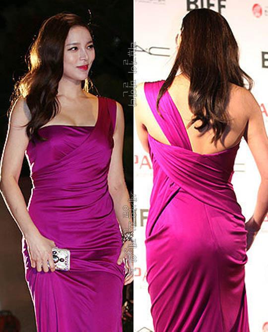 박시연 파격 드레스 시스루의 팜 파탈 《부산국제영화제 레드 카펫》