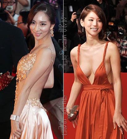 오인혜 배소은 파격 드레스