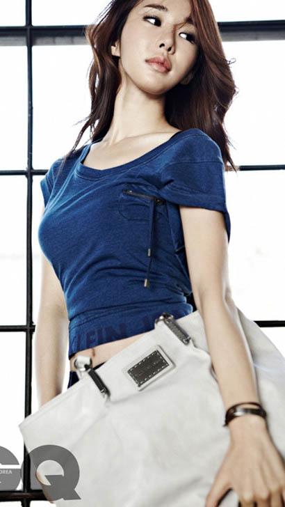 유인나 GQ 모델