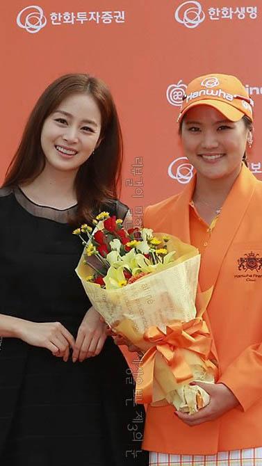 김태희 골든베이 골프 대회 시상식