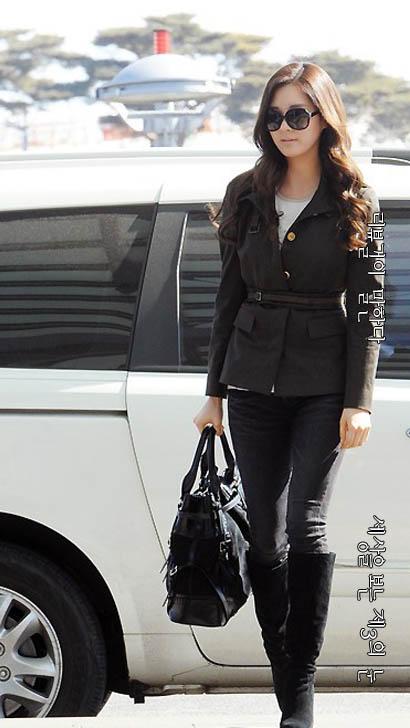 서현 공항 패션